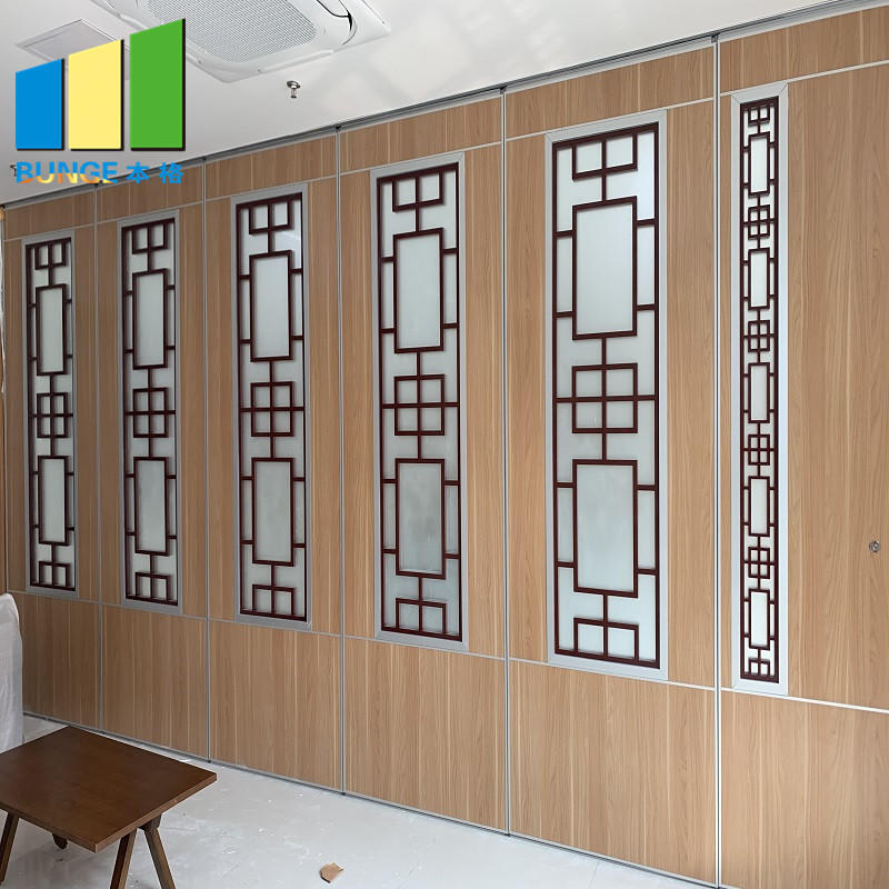 Commercial Restaurant Folding Mobile Wall Partition Sliding Acoustic Movable Partition Manufacturer