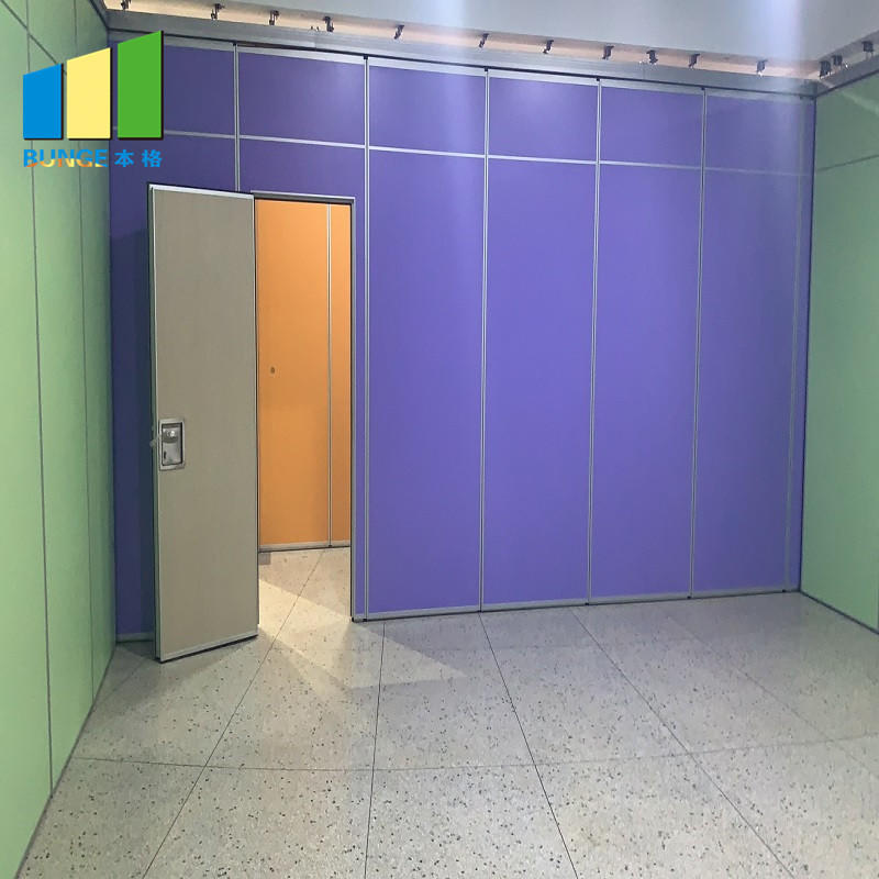 Malaysia Aluminum MDF Wood Soundproof Movable Room Partition Wall For Restaurant-EBUNGE