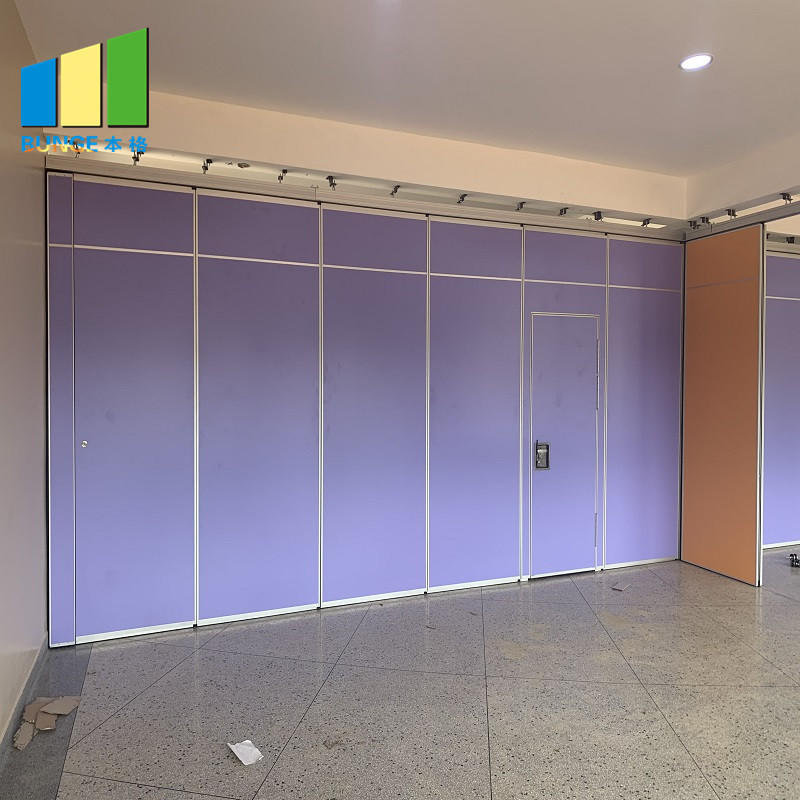 Malaysia Aluminum MDF Wood Soundproof Movable Room Partition Wall For Restaurant