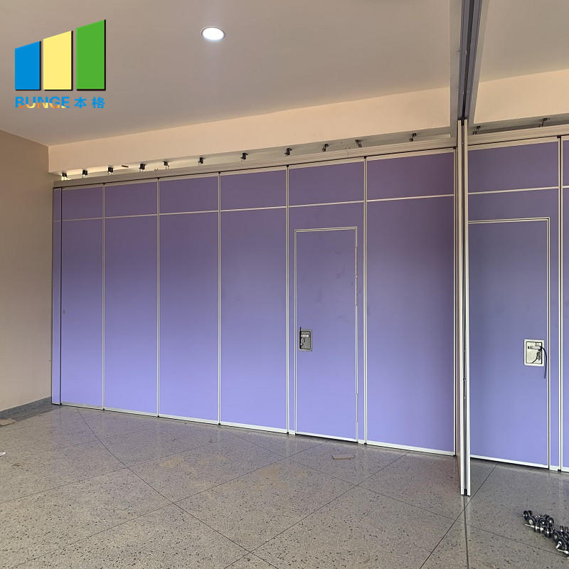 Malaysia Aluminum MDF Wood Soundproof Movable Room Partition Wall For Restaurant-movable wall- folding partition-operalbe wall-EBUNGE