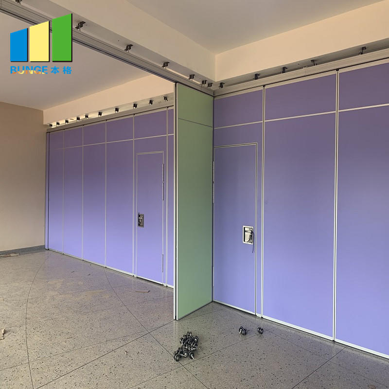 Malaysia Aluminum MDF Wood Soundproof Movable Room Partition Wall For Restaurant-movable wall, folding partition,operalbe wall-EBUNGE