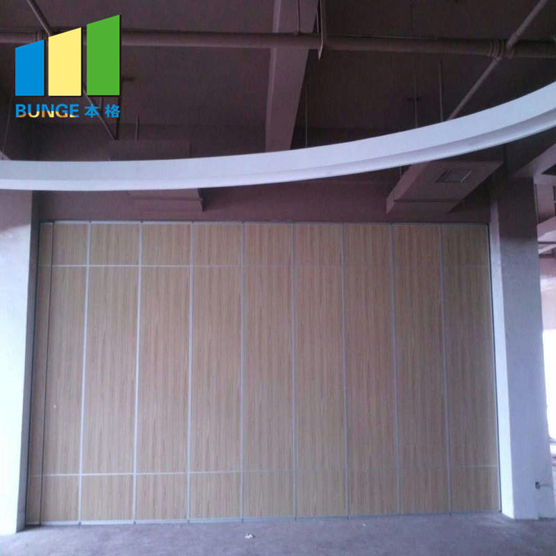 Banquet Room Temporary Acoustic Soundproof Collapsible Operable Folding Partitions