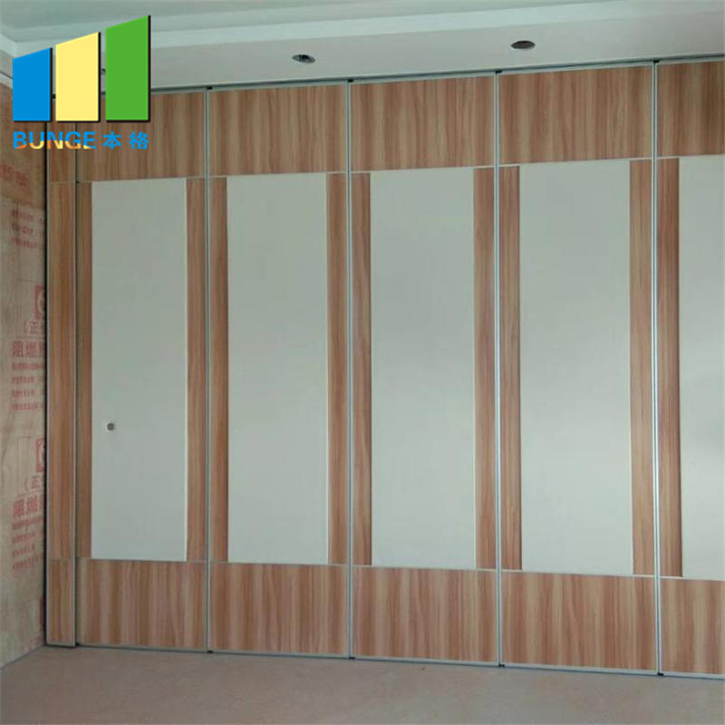 product-Folding Sliding MDF Meeting Room Partitions Banquet Hall Soundproof Operable Partition Wall-1