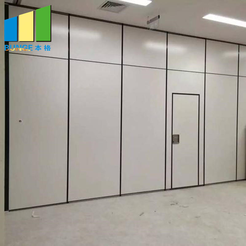 Ceiling Hung Acoustic Classroom Meeting Room Folding Door Fabric Partitions Philippines