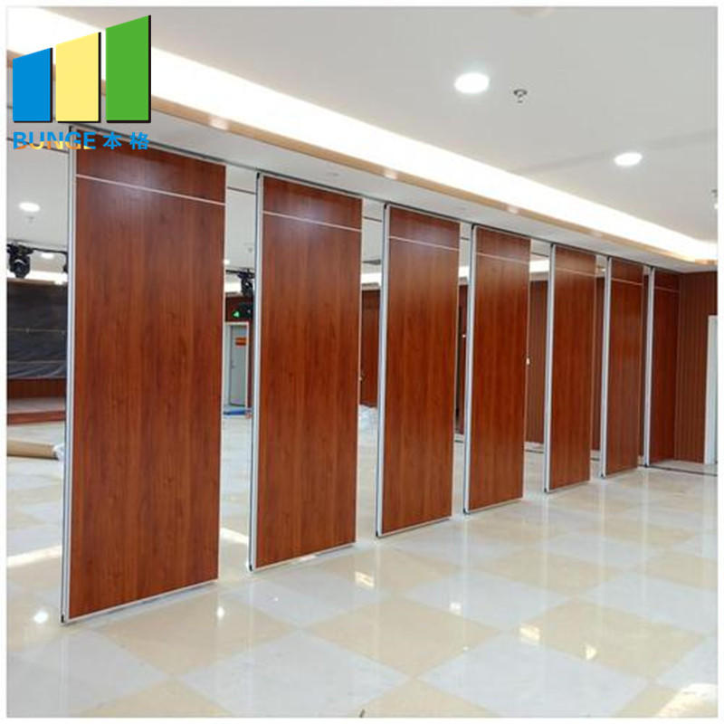 Ceiling Hung Acoustic Classroom Meeting Room Folding Door Fabric Partitions Philippines-acoustic fabric partitions-EBUNGE