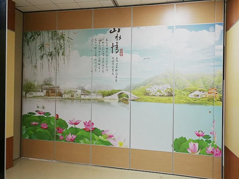 BUNGE Acoustic Folding Movable Partition Walls Showroom