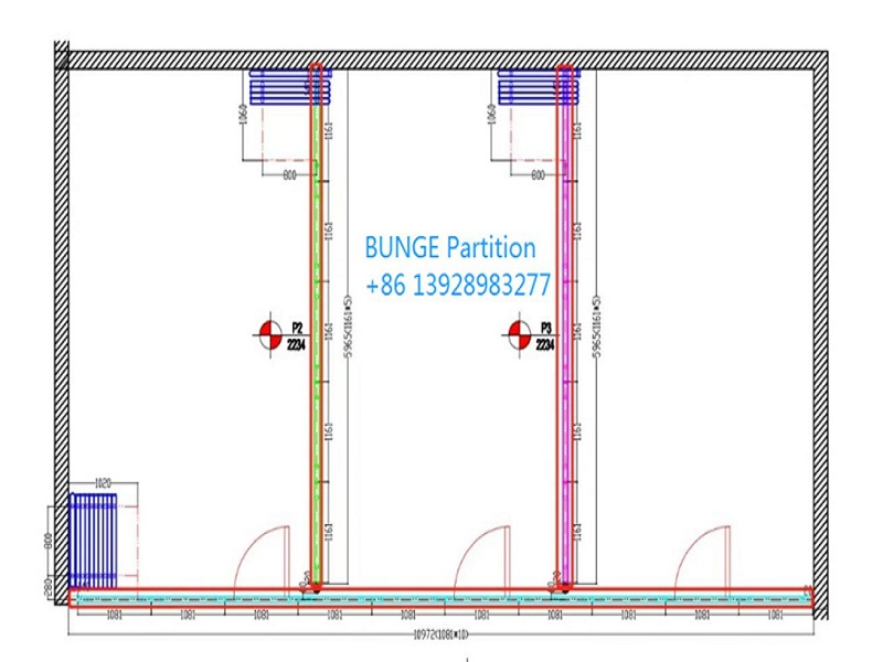 news-EBUNGE-Congratulation for a function room mobile partition walls project in USA-img