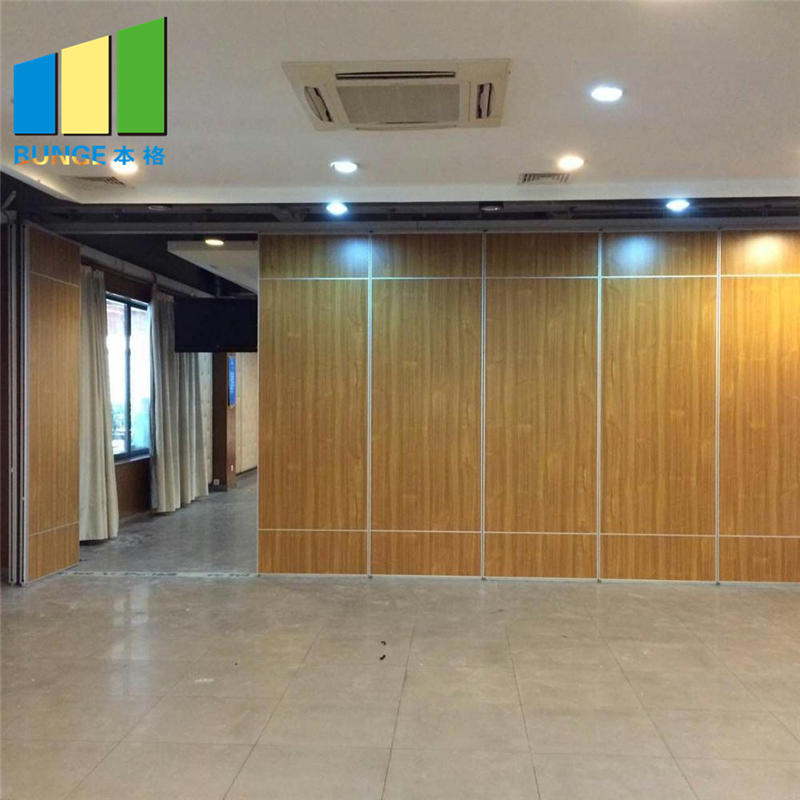 Conference Room Soundproofing Folding Wall Partition Convention Hall Office Operable Partition Wall