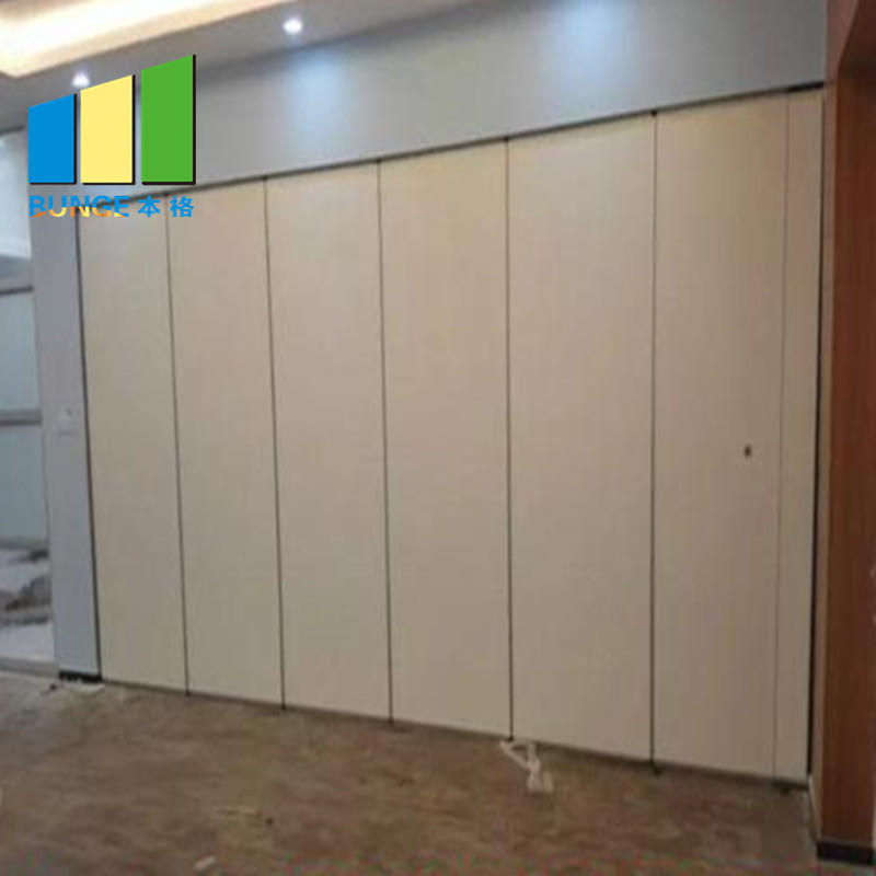 EBUNGE-Aluminum Collapsible Sliding Wall Partition Door School Classroom Sound Proof Partition System