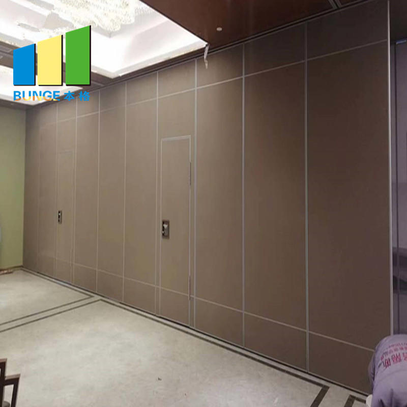 Aluminum Collapsible Sliding Wall Partition Door School Classroom Sound Proof Partition System