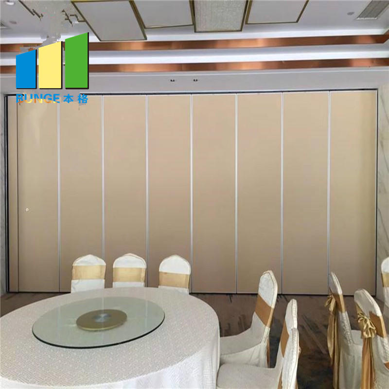 product-EBUNGE-China Soundproof Acoustic Movable Partition For Office Cheap Soundproof Folding Opera