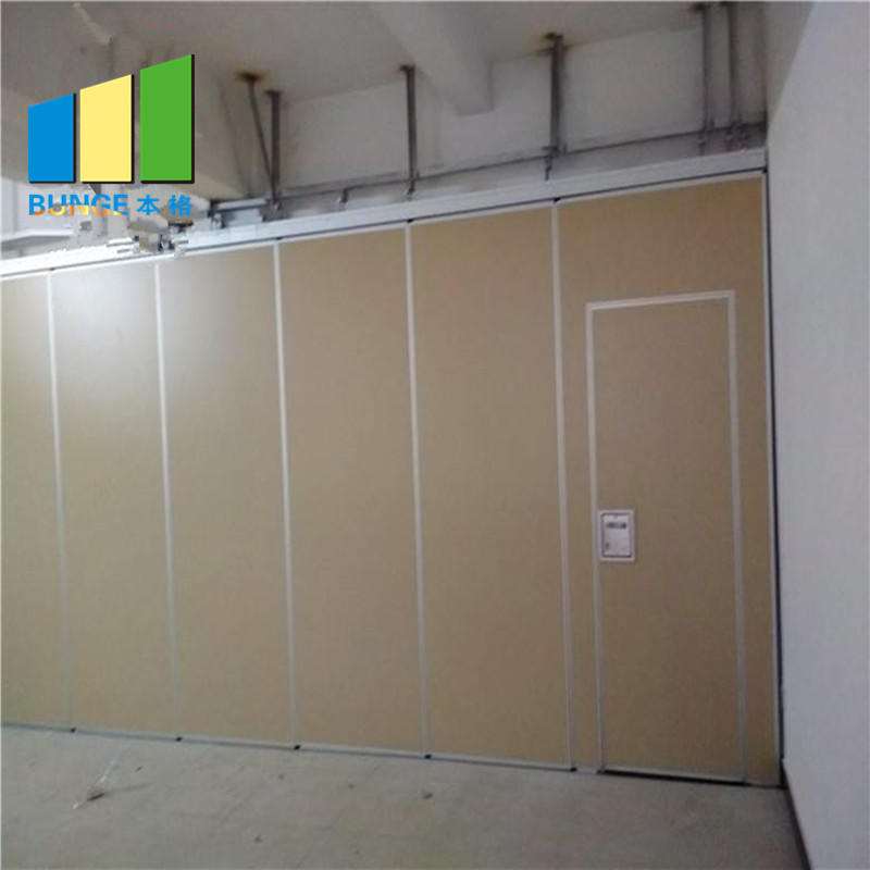 China Soundproof Acoustic Movable Partition For Office Cheap Soundproof Folding Operable Wall