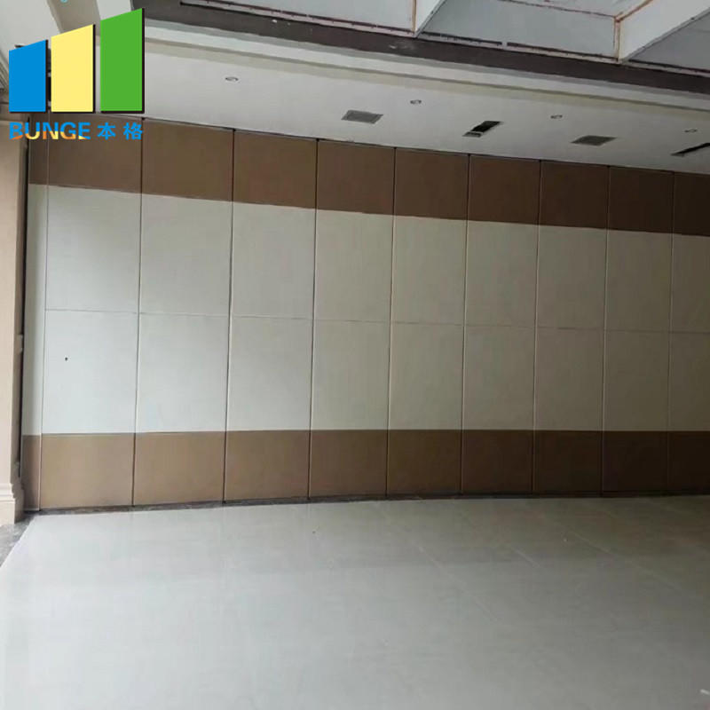 product-Commercial Soundproof Sliding Partition Wall Cambodia Folding Movable Partition Door for Off-1