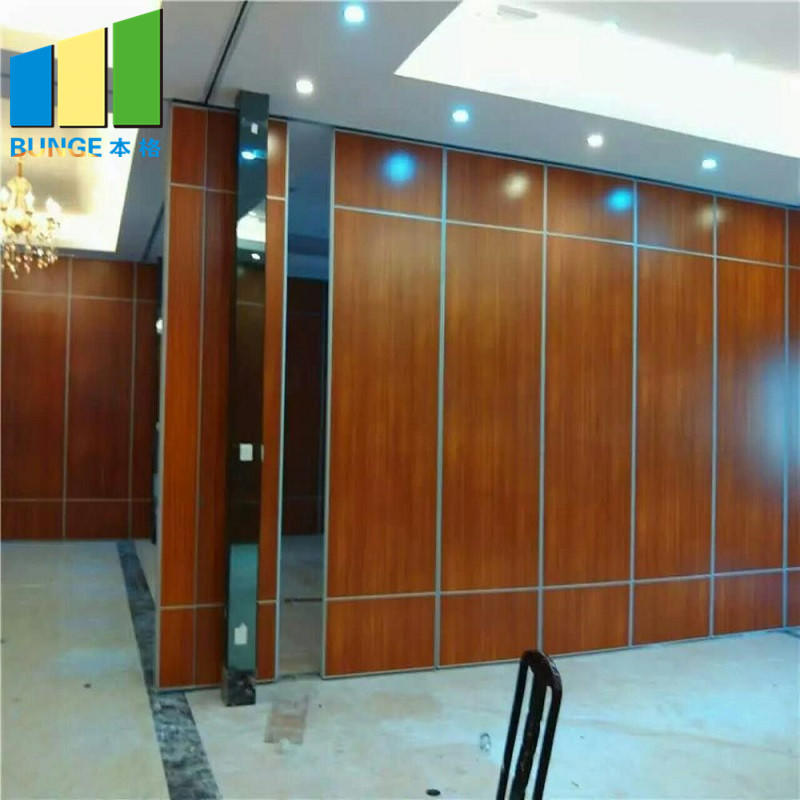 EBUNGE-Commercial Soundproof Sliding Partition Wall Cambodia Folding Movable Partition Door for Office