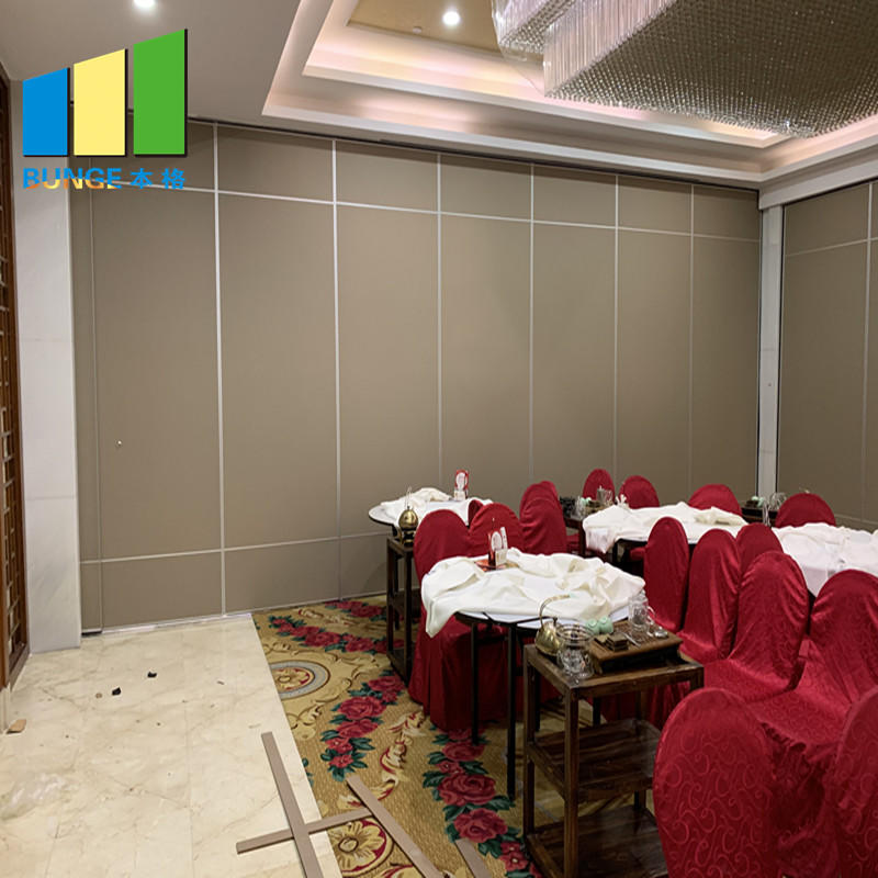 Best Sale Meeting Room Operable Wall Bifold Fabric Moveable Foldable Partition Panels