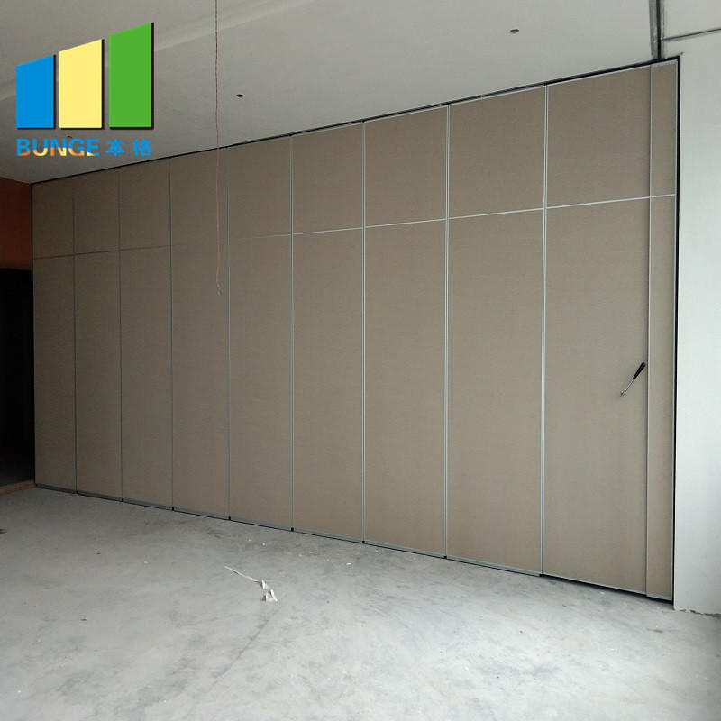 Aluminum Frame Sliding Office Partition Door Classroom Accordion Foldable Wall Partition Philippines