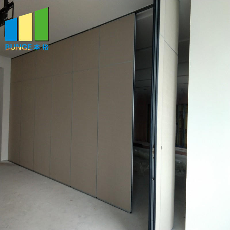 product-Aluminum Frame Sliding Office Partition Door Classroom Accordion Foldable Wall Partition Phi-1