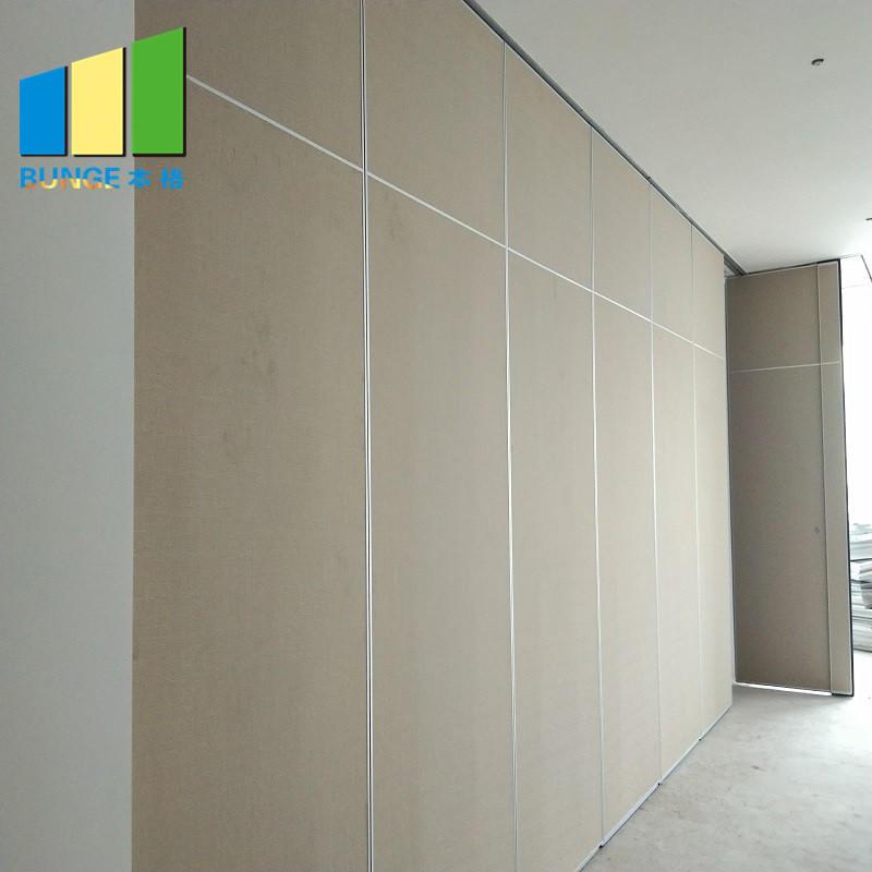 product-EBUNGE-Aluminum Frame Sliding Office Partition Door Classroom Accordion Foldable Wall Partit