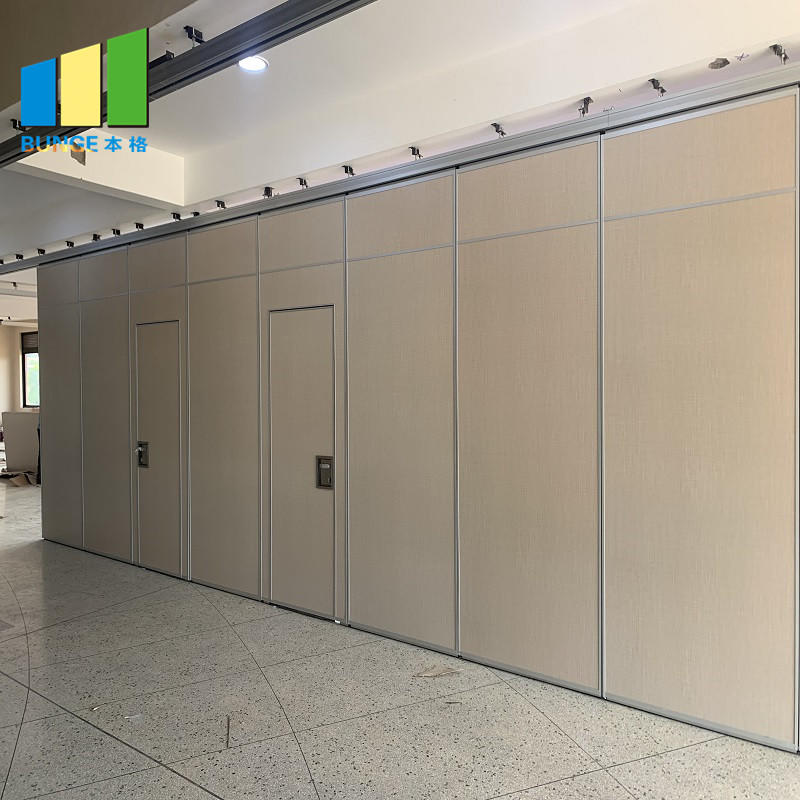 product-Fabric Acoustic Movable Wall System Davao Foldable Sliding Partition for Meeting Room-EBUNGE-1