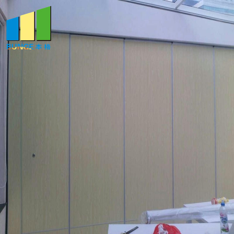 Collapsible Foldable Wall Soundproof Flexible Moving Folding Door Partition for Wedding Hall