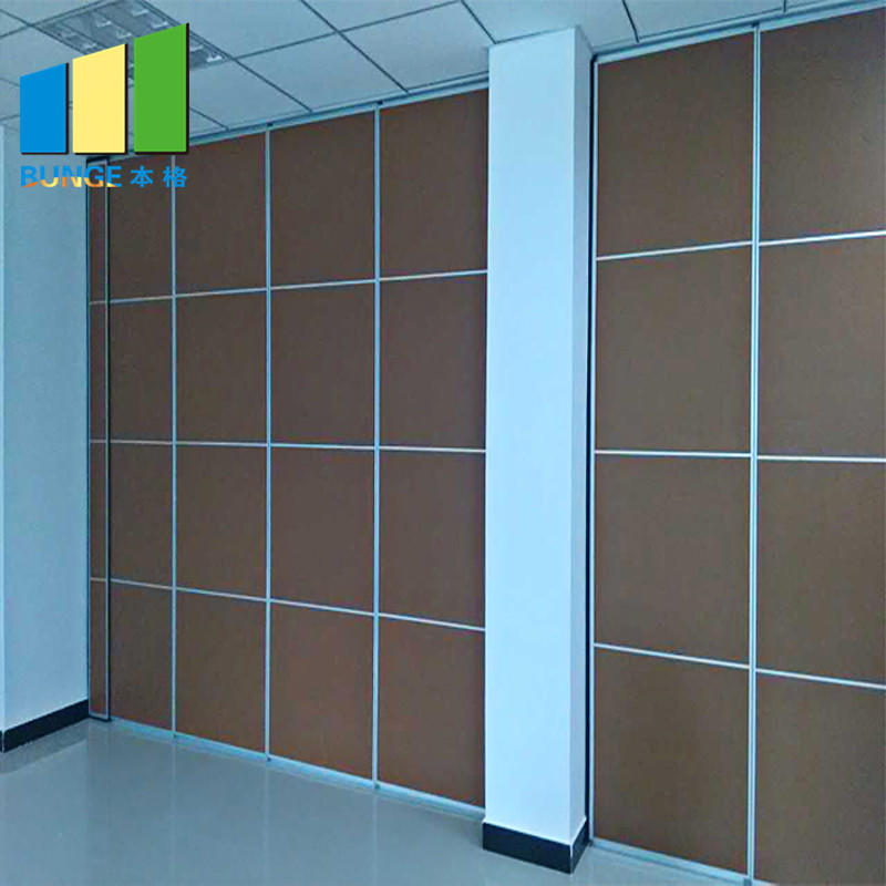 Soundproof Sliding Door Operable Acoustic Foldable Partition Moveable Walls for Conference Hall
