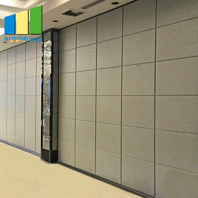 product-EBUNGE-Soundproof Sliding Door Operable Acoustic Foldable Partition Moveable Walls for Confe