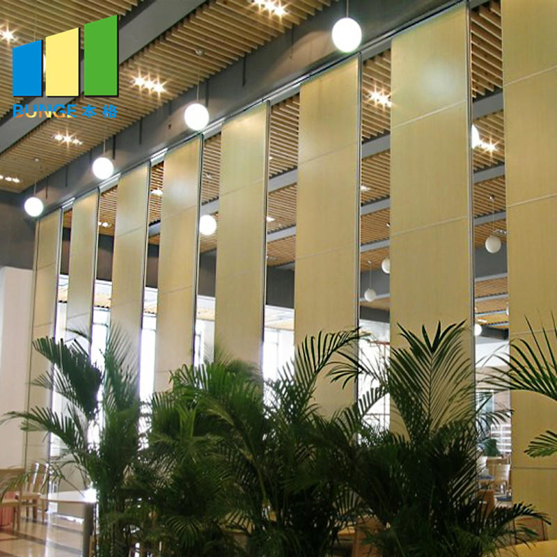 product-Soundproof Sliding Door Operable Acoustic Foldable Partition Moveable Walls for Conference H-1