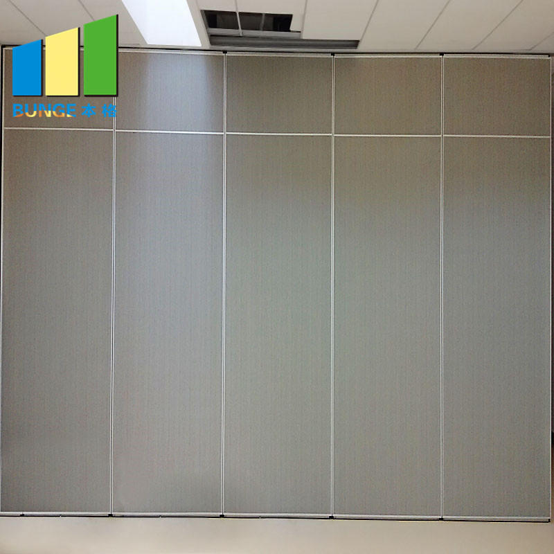 Mobile Acoustic Room Dividing System Soundproof Sliding Foldable Removable Wall Partitions for Office-EBUNGE