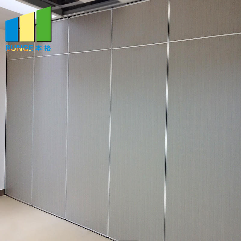 EBUNGE-Mobile Acoustic Room Dividing System Soundproof Sliding Foldable Removable Wall Partitions for Office