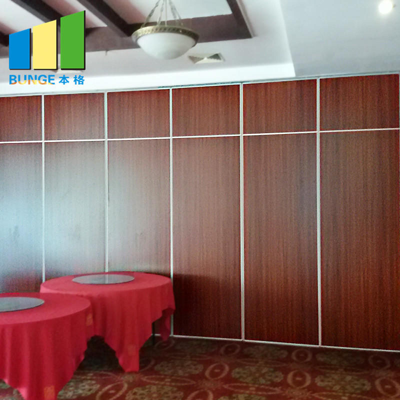 China Fireproof Flexible Soundproof Acoustic Movable Partition Wall for Office Meeting Room Church-EBUNGE