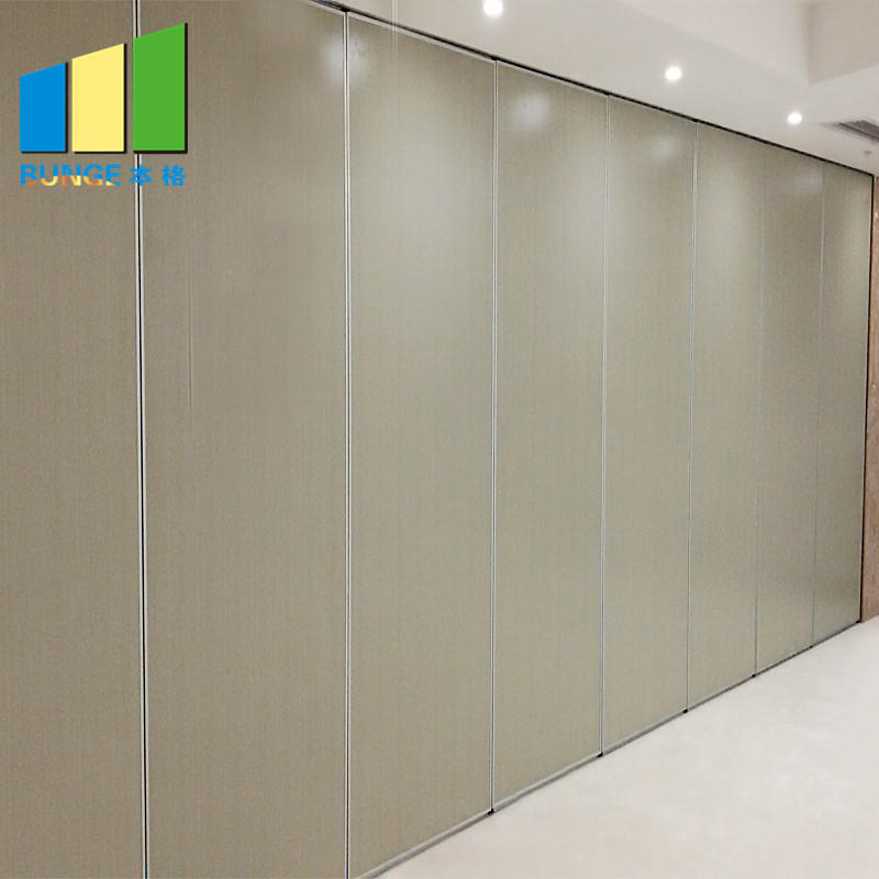 Aluminum Frame Dubai Fire Proof DIY Movable Acoustic Wall Partition for Auditorium