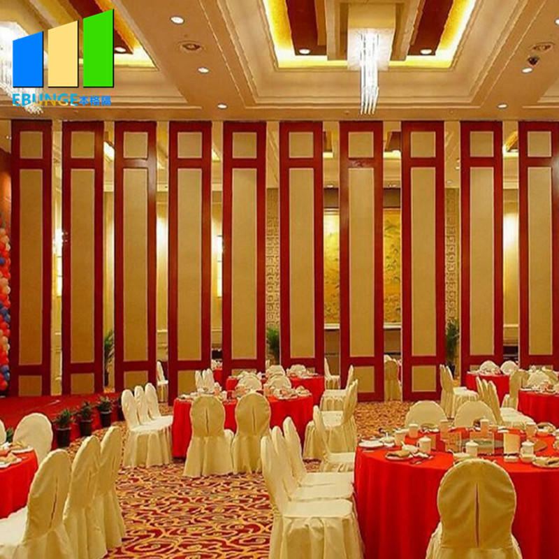 Movable partition wall attachment operable mobile wall accordians sliding door for banquet-movable wall- folding partition-operalbe wall-EBUNGE