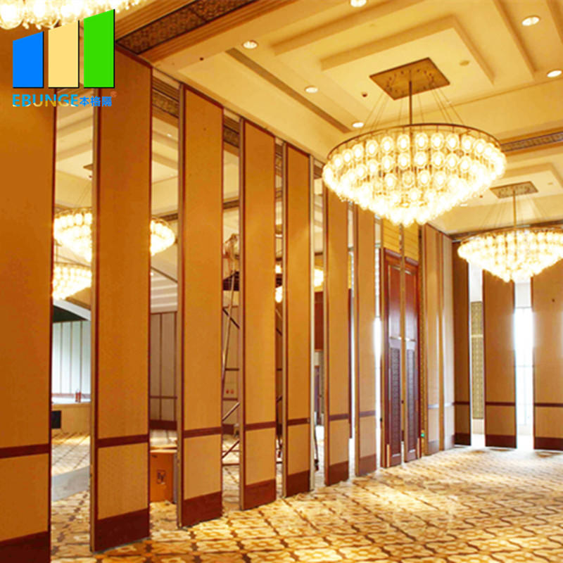 product-Sliding folding partition in room partition board melamine movable wooden partition wall for-1