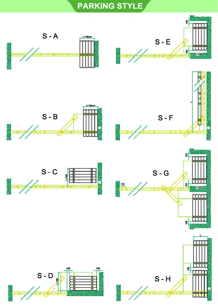 product-Movable partition wall bearing aluminum track partition wall board interior wooden partition-2