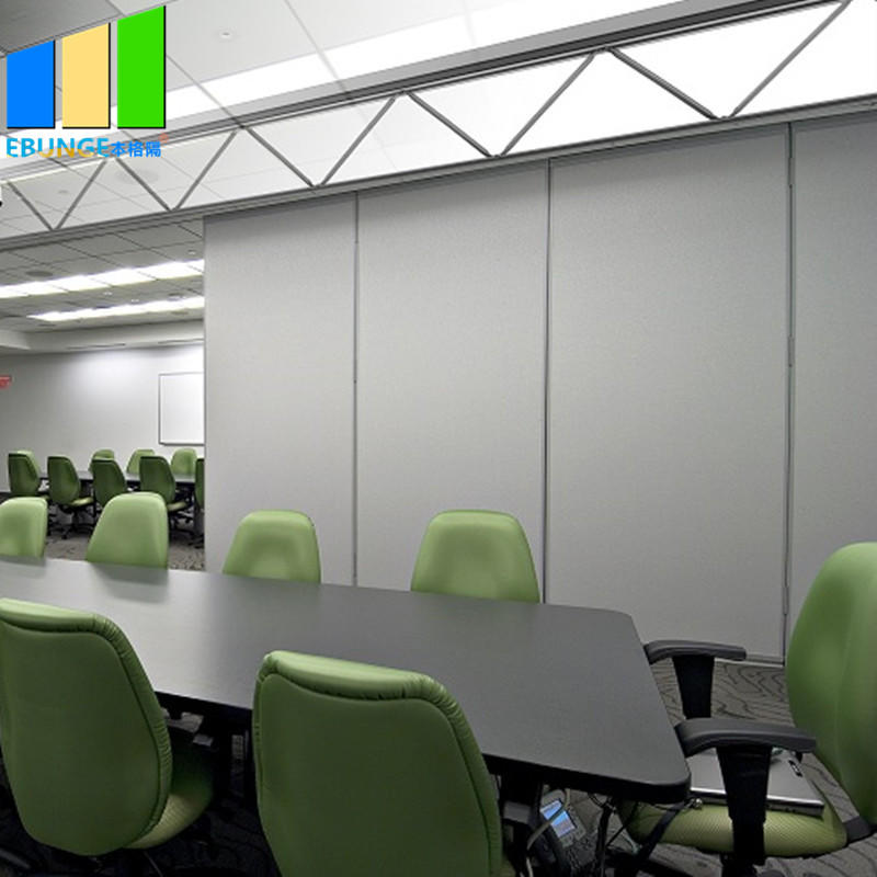 Room divider vocal booth movable partition wall carrier movable sliding partition wall for boardroom