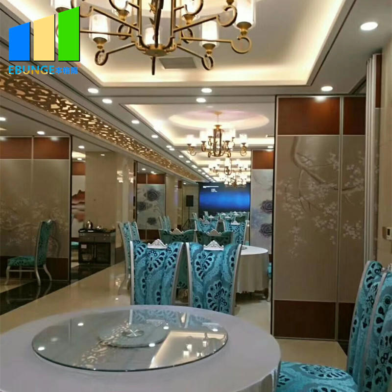 Restaurant partition decor divider painting movable restaurant partition wall for conference center