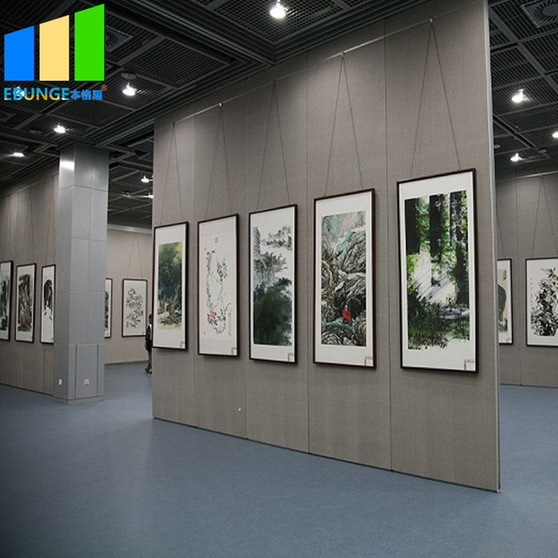 product-Decorative partition wall with shutter movable partition in bahrain for exhibition hall-EBUN