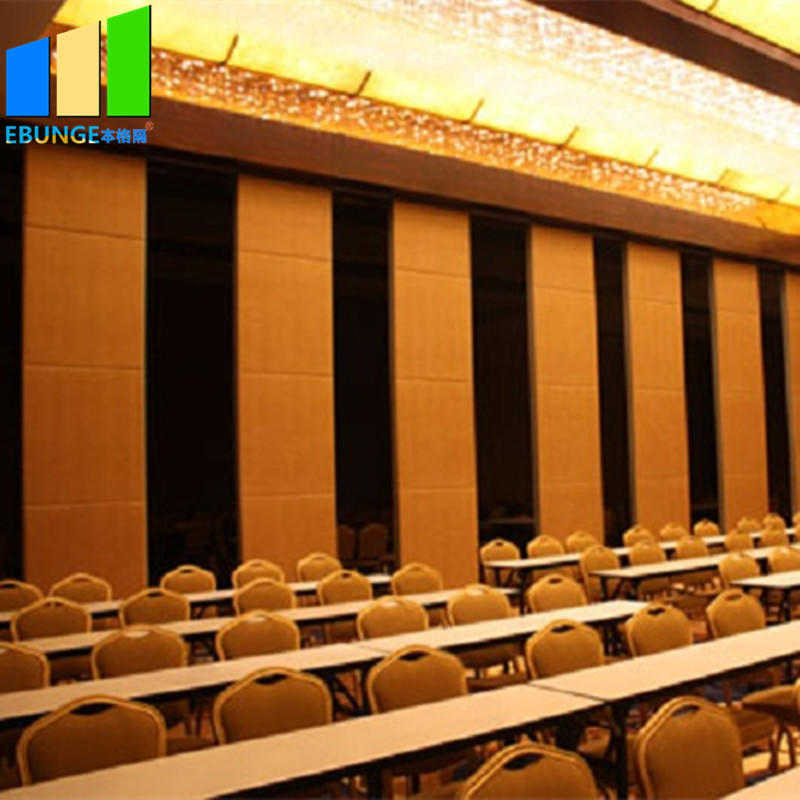 New design operable partition wall board removable sliding partition wall for boardrooms