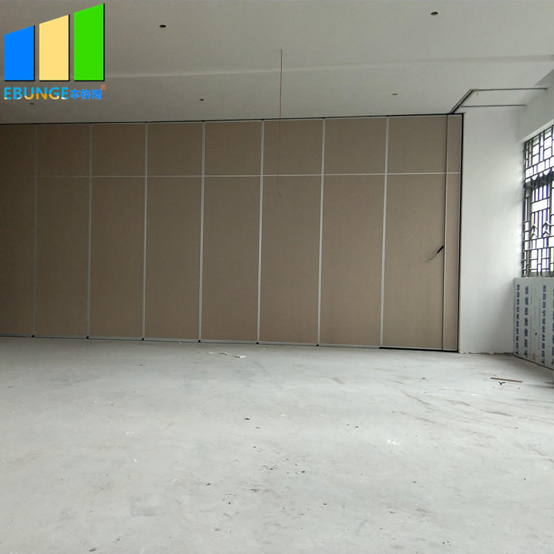 product-EBUNGE-Soundproof folding doors accordion room divider acoustic panel movable mdf partition