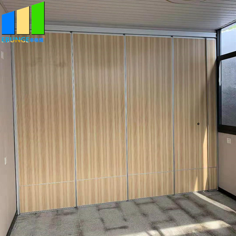 Soundproof folding doors accordion room divider acoustic panel movable mdf partition walls price in dubai