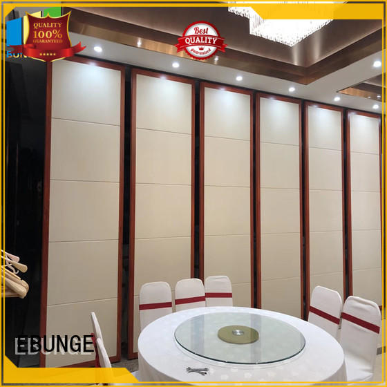 EBUNGE retractable commercial room dividers wholesale for hotel