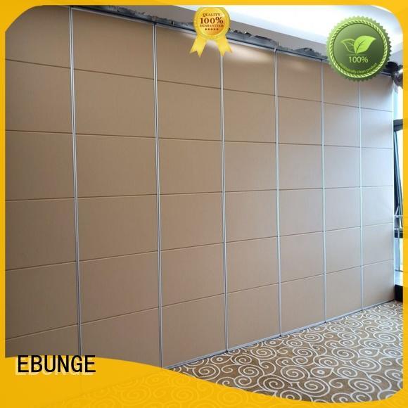 EBUNGE modern half wall room divider supplier for hotel