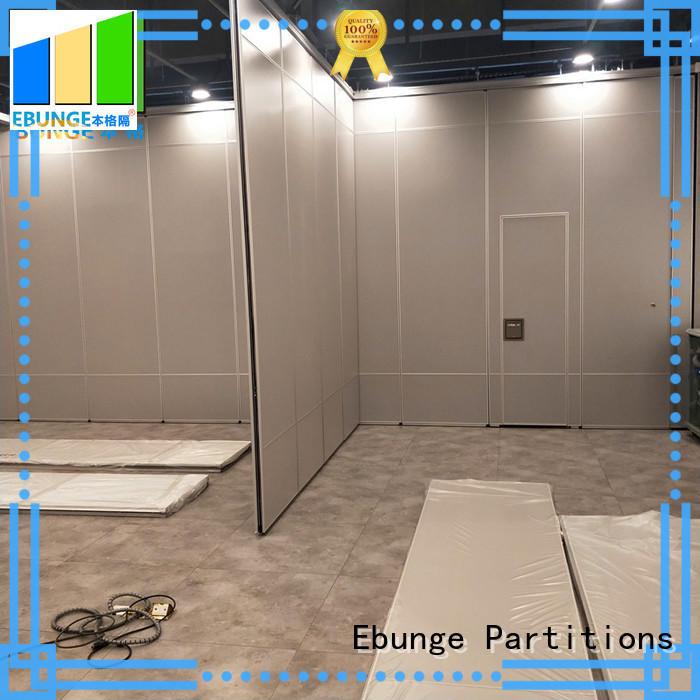 EBUNGE convenient sound proof partition wall manufacturer for banquet hall