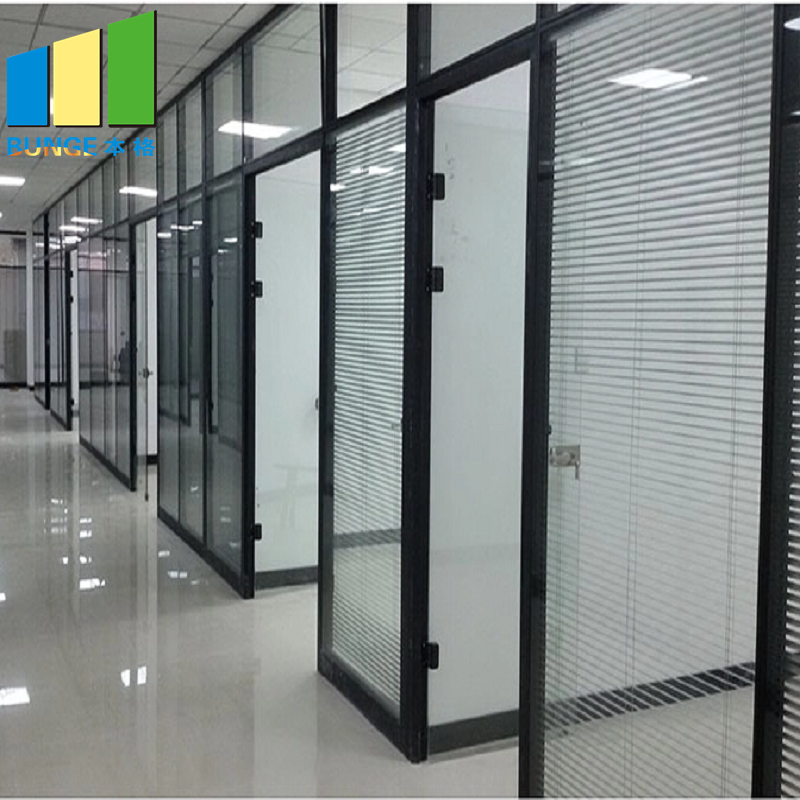 Bunge-Manufacturer Of Glass Partition Wall Design Glass Office Walls Cost-1