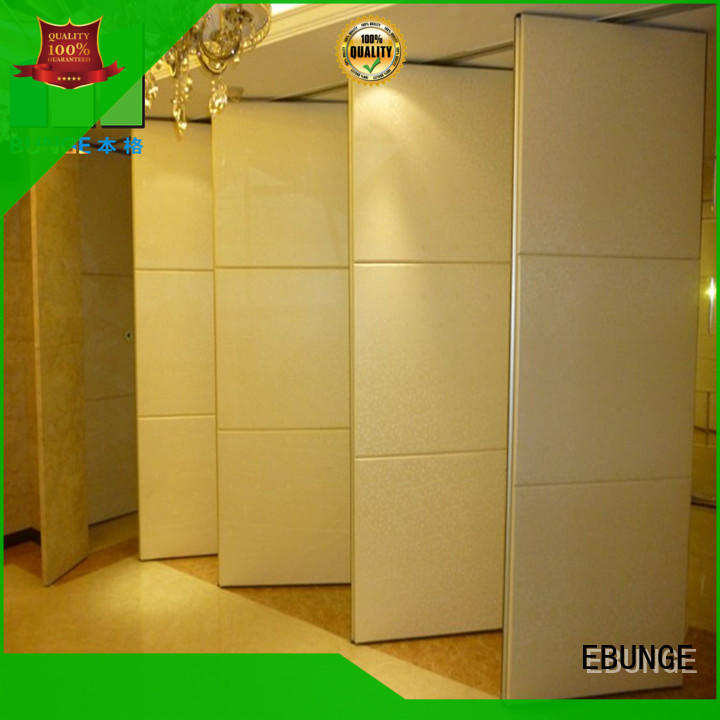 MDF movable partition wall series for banquet halls