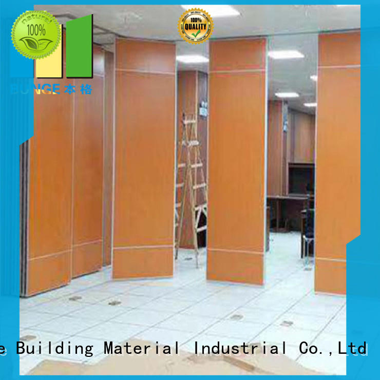 EBUNGE room partition with door factory direct supply for function hall