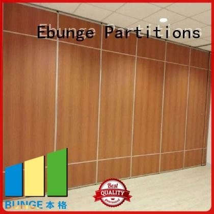 wooden partition divider customized for office