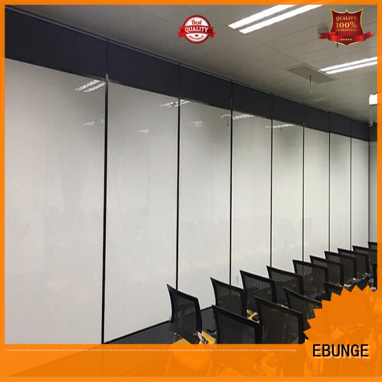 MDF Folding Partition Moveable Walls Panels Operable Soundproof Partitions for Office
