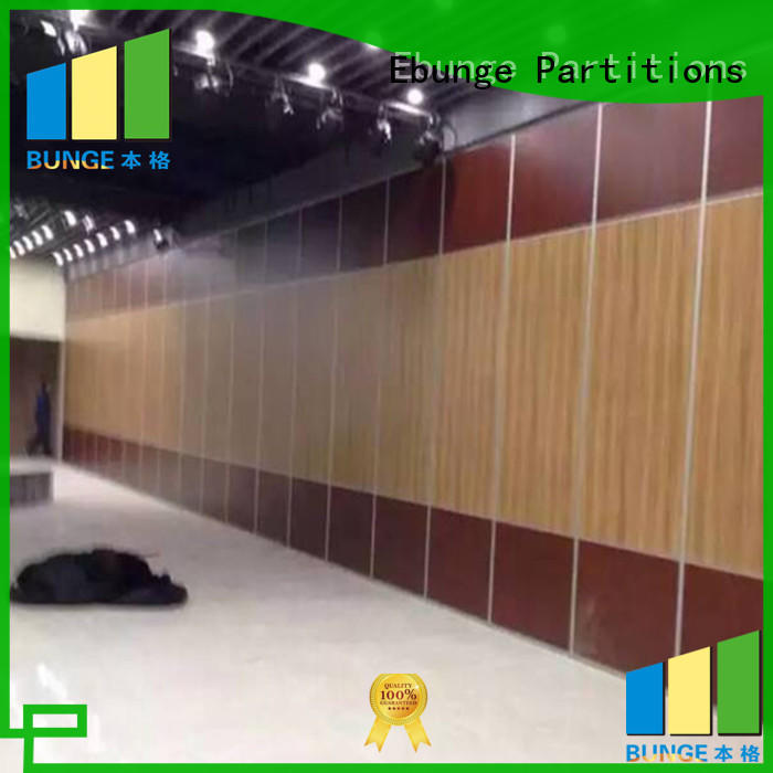 EBUNGE wooden sound proof partition wall series for office