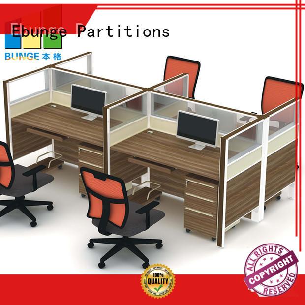 EBUNGE modular workstation customized for bank